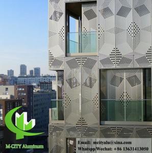 Decorative Aluminium panel waterproof aluminum facade panel with powder coated Manufactures