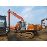 Japanese Used Hitachi Excavators EX200 0.8cbm Bucket Capacity With 17M Long Arm Manufactures