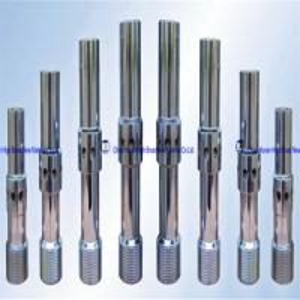 Boron Carbide Sandblasting Nozzles Double Venturi Nozzle With Aluminium Threads Manufactures