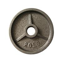 No Odor Fitness Weight Plates Eco Friendly Mateiial Gray Hammertone Manufactures