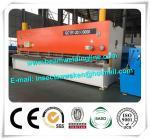 Steel Plate E21S NC Hydraulic Swing Beam Shear Hydraulic Guillotine Shearing Machine Manufactures