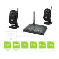Outdoor Surveillance Video Security Camera Systems Plug And Play Wireless Manufactures