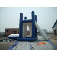 Lead - Free Backyard Water Games , Kids Inflatable Slide For Inground Pool Manufactures
