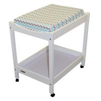 Indoors Baby Changing Pad Cover , Soft Comfy Cotton Fabric Changing Table Pad Cover Manufactures