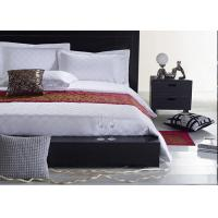Jacquard Fabric Hotel Bedding Sets , Hotel Collection 6 Piece Comforter Set Manufactures