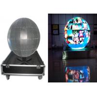 High Definition Full Color Spinning LED Ball P4 P5 For Science Museum / Exhibition Center Manufactures