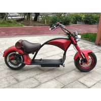 China High Carbon Steel Mini Electric Bicycle , Red Color Small Electric Bike YT Cool Big Harley on sale