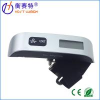 Glass sufact and colorful luggage scale, blue backlight digital Luggage scale with belt Manufactures