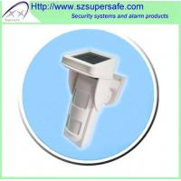 Wireless Solar Powered Outdoor PIR Motion Detector Manufactures