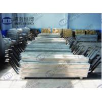 Quality Aluminum anode defend corrosion of steel structures in seawater and fresh water environment for sale