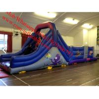 sea themed inflatable obstacle course inflatable obstacle Manufactures