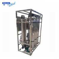RO system boiler feed water treatment machine 2000L per hour SS316 Manufactures