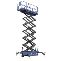 Quality Max Height 10m Scissor Lift With Motorized Device Loading Capacity 300kg Optional Extension Platform for sale
