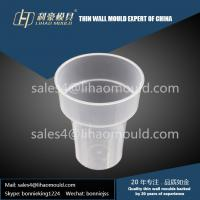 PP high quality take away plastic injection thin-wall cup molding solution Manufactures