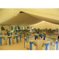 Buy cheap White PVC Canopy Wedding Event Tents 20x30m Aluminum Alloy Clear Span Marquee from wholesalers