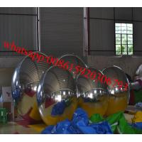 Hot sale sliver / Glod Inflatable Advertising Ball 3m Diameter Outdoor Eco-friendly Manufactures