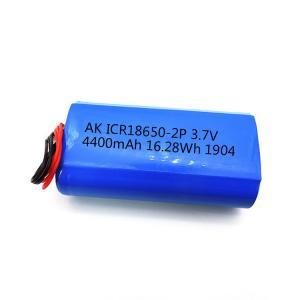 CC CV 18650 UN38.3 4400mAh Li Ion 3.7 V Battery MSDS Manufactures