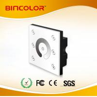 P1 12v-24v 4 channel 86-style wall mounted single color led touch dimmer Manufactures
