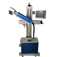 Cosmetics QR Code Laser Marking Machine Pulse Frequency With Power Switch Manufactures
