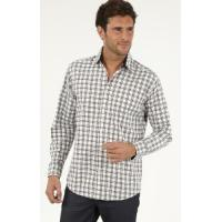 Men's Casual Shirts » Men's Long Sleeve Cotton Oxford Check Casual Shirts Manufactures