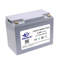 Rechargeable LiFePo4 battery pack 12V 80Ah 960Wh for solar energy Manufactures