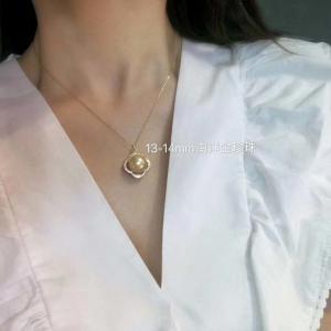 Natural Pearl Necklace-Customize,Fashion,100% Natural Pearl,Gorgeous,Elegant,Luxurious,organic gemstone etc Manufactures