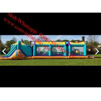 Assault course Inflatable Obstacle Course Manufactures