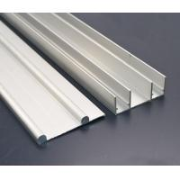 Quality 8 - 10um Natural Anodized Aluminium Channel Profiles with CNC Machining Processing for sale