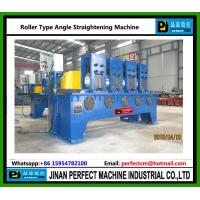 Quality Roller Type Angle Straightening Machine China Manufacturer for Tower Fabrication for sale