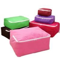 China Collapsible Eco Fabric Non Woven Storage Bag For Toys Bedding Clothing on sale