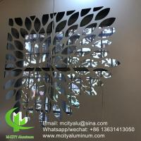 Facade Wall Cladding  Aluminum Carved Panel   Outdoor Wall Covering 1.5 - 10mm  Thickness Manufactures