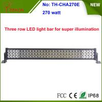 "270w 35"" 3 rows waterproof IP67 LED light bar, LED mining bar, for 4x4 truck and 4wd auto Manufactures"