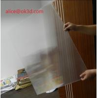 3D effects lenticular sheet materials 25 lpi 4mm thickness lenticular for uv flatbed printer and inkjet print Manufactures
