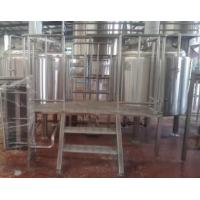1000L Stainless Steel Fully Automatic Beer Processing Machine Manufactures