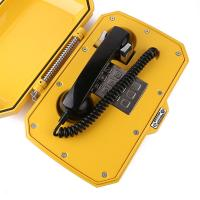 Analog telephone with armoured cable in harsh and rugged environments waterproof industrial telephone JWAT306 Manufactures