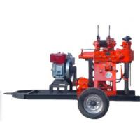 XY-200 Portable Trailer Mounted Rock Borehole Drilling Rig Manufactures