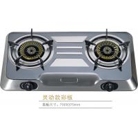 Stainless Steel 2 Burner Portable Gas Stove , Table Top Gas Cooker Manufactures