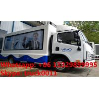 Quality 2017s best price high quality Mobile LED advertising truck for VIVO Mobile Phone for sale