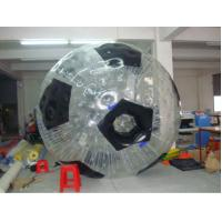 Quality Clear PVC / TPU Inflatable Walking Human Hamste Ball for Fun for sale