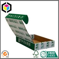 Strong Quality Green Color Print Shoe Corrugated Cardboard Mailing Box Manufactures