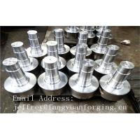 17CrNiMo6 31CrMOV9 Alloy Steel Forged Shaft  Heat Treatment And Machined Manufactures