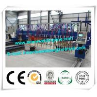 Quality CNC H Beam Production Line Plasma And Flame Cutting Machine with numerical control system for sale
