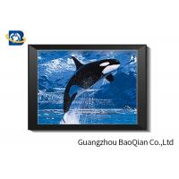 Dolphins Theme 3D Deep And Flip Effect Lenticular Material Picture With Frame Or Frameless Manufactures