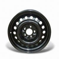 Passenger Vehicle Wheel in Black, Comes with 8-D Style and 2.5mm Rim Thick Manufactures