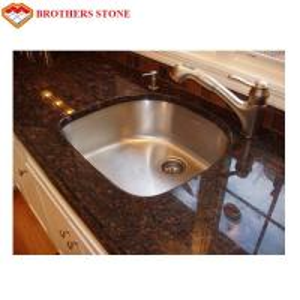China Brown Granite Stone Table Beautiful Tan , Brown Granite Countertops on sale