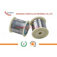 Buy cheap 0.15mm Width 4mm NiCr8020 Flat Wire Nichrome Bright Flat Wire For Sealing from wholesalers