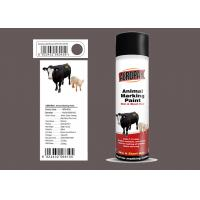 Light Green Animal Marking Spray Paint For Pig With MSDS Certification Manufactures