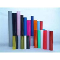 Colorful Gloss Clear Rigid PVC Film PVC Plastic Sheet Roll With No Bubble Manufactures