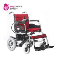 China Convenient Recharging Simple Power Wheel Chairs Foldable With Removable Battery Box on sale