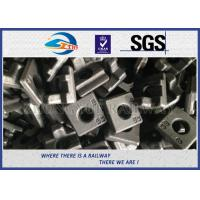 Customized S-13 Rail Clips With Material 60Si2MnA HDG Surface Treatment Coating Manufactures